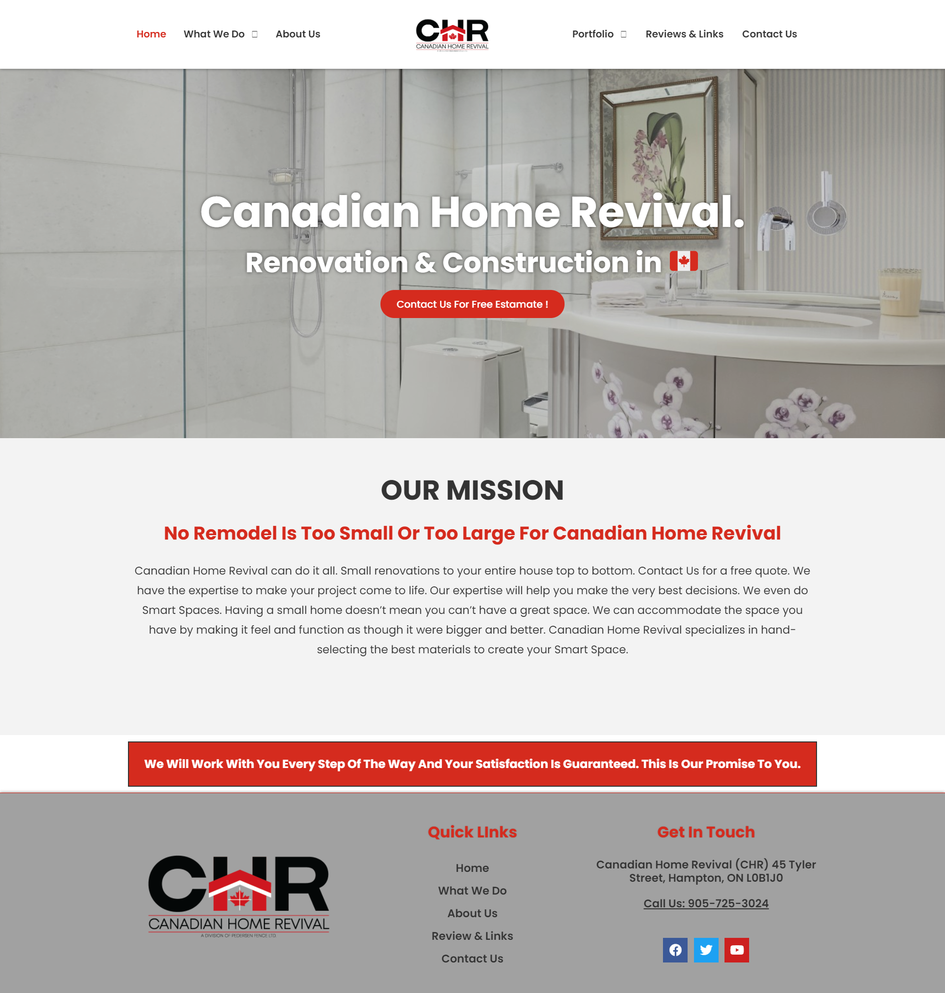 Canandian Home Revival Home Renovation Services